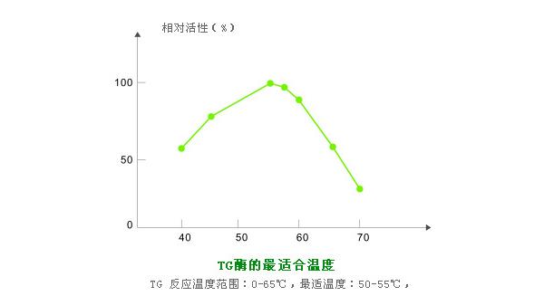 TG酶最适作用温度