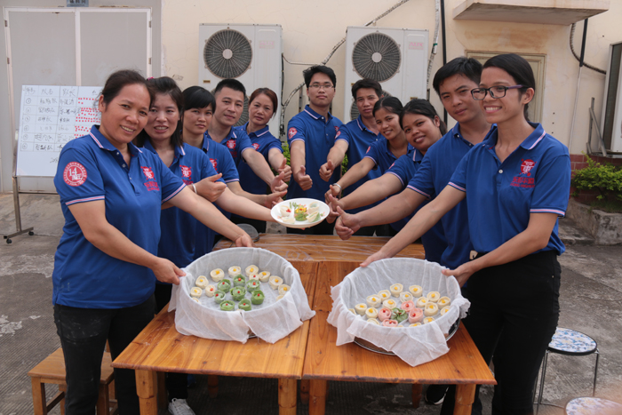 东恒华道酶制剂14周年庆厨艺活动